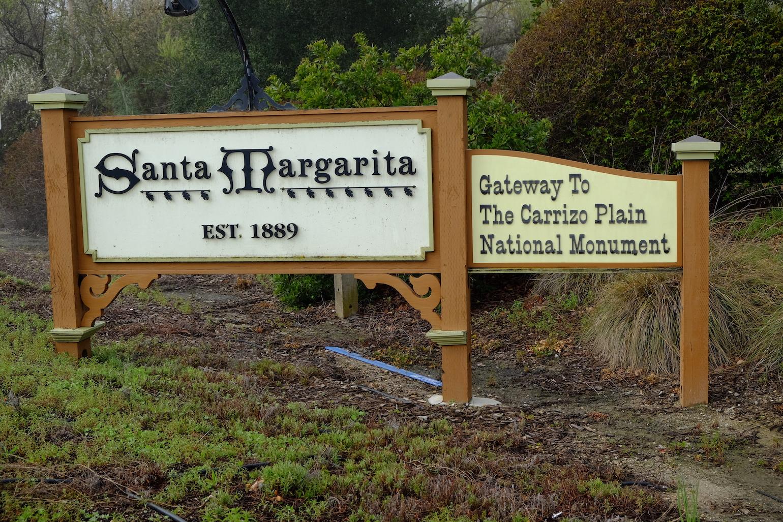 Santa Margarita, San Luis Obispo County
