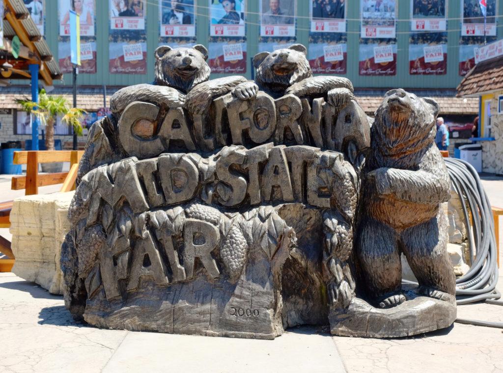 Statue at California Mid-State Fair