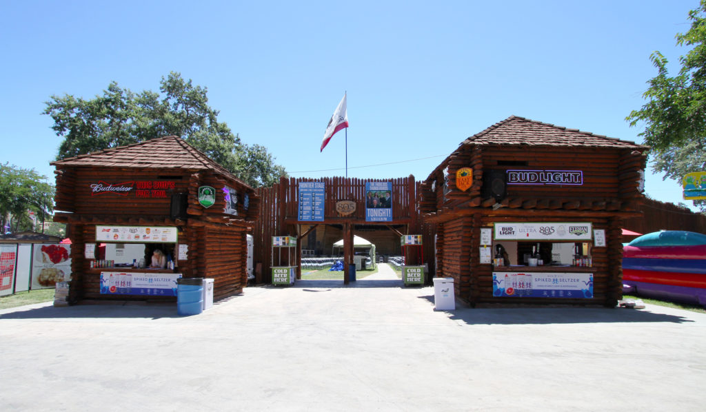 Frontier Stage at California Mid-State Fair