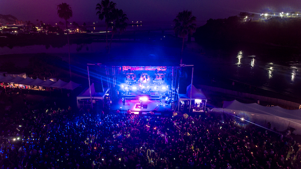 Avila Beach Golf Resort Amphitheater - Arial