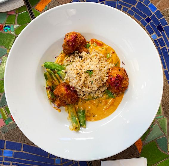 Robin's Restaurant - Cauliflower Tempura