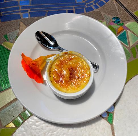 Robin's Restaurant - Creme Brule