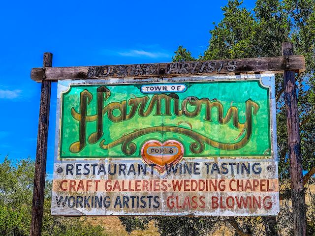 Town of Harmony, San Luis Obispo County